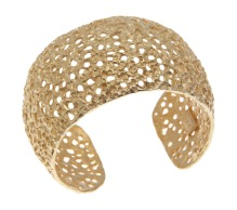 dp.pu.3– Craters, bracelet, 18 karat yellow gold