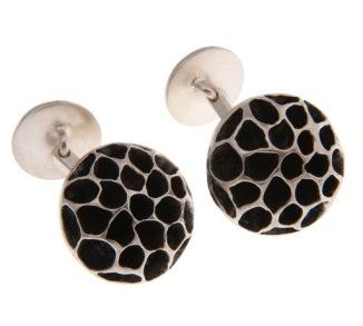 im.ma.2.– Magnet, cufflinks, 950 silver, patina